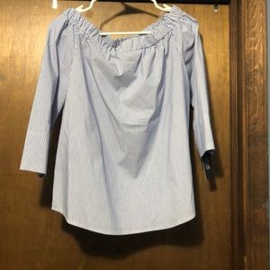 3/4 length sleeve, off the shoulder, top